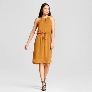 Golden Mossimo Dress